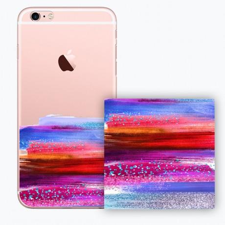 PACK PowerBank 2600MAH + Coque rigide transparente pour iPhone 6/6S - Peinture