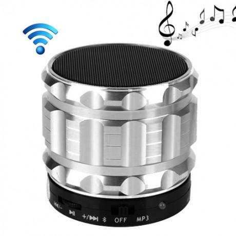 Enceinte Bluetooth portative métal - Argent