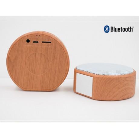 Enceinte Bluetooth portative bois