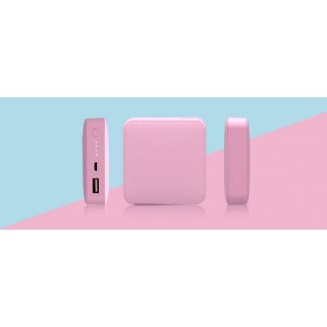 Batterie de secours softouch rose 7800 MAH