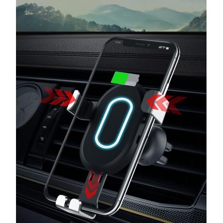 Support voiture universel avec chargeur à induction intégré