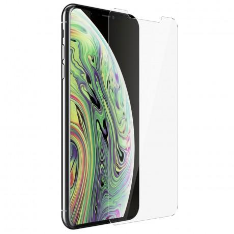 Vitre de protection en verre trempé iPhone XS Max