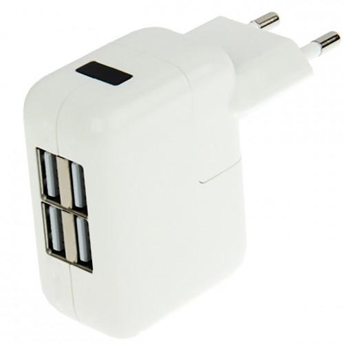 Chargeur secteur 4 ports USB
