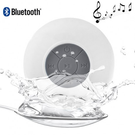 Enceinte Bluetooth étanche 3 watts - Blanc