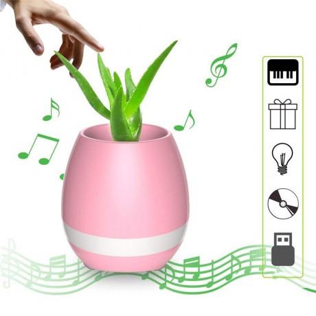 Enceinte Bluetooth Pot de fleur - Rose Gold (vendu sans la plante)