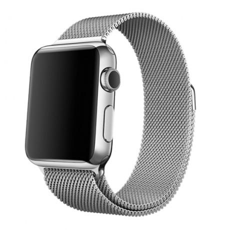 Bracelet milanais pour Apple Watch 42/ 44 mm - Argent