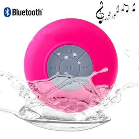 Enceinte Bluetooth étanche 3 watts - Rose