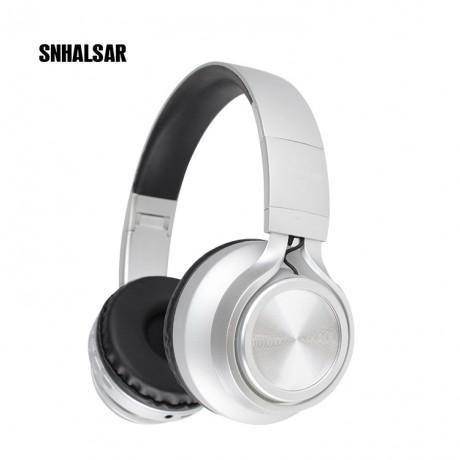 Casque stéréo Bluetooth - Argent