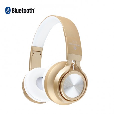Casque stéréo Bluetooth - Or
