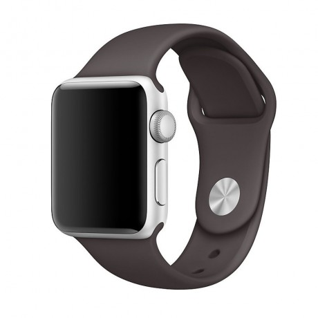 Bracelet souple pour Apple Watch 38/ 40 mm - Marron