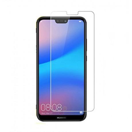 Vitre protectrice avant en verre trempé pour Huawei P20 Lite