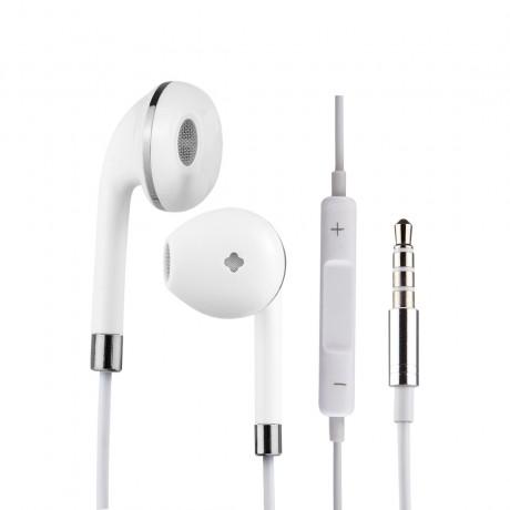 Ecouteurs Jack 3.5mm - Blanc et argent