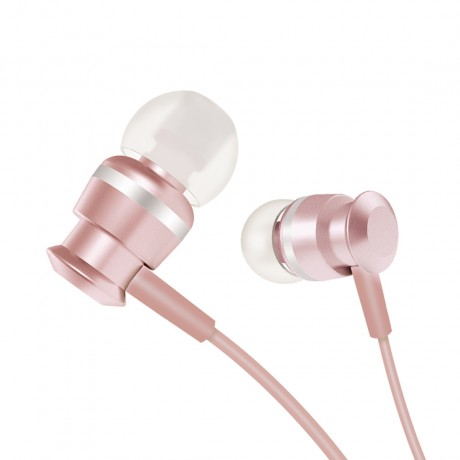 Ecouteurs intra-auriculaire Jack 3.5mm- Rose Gold