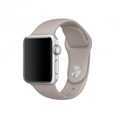 Bracelet souple pour Apple Watch 42/ 44 mm - Nude