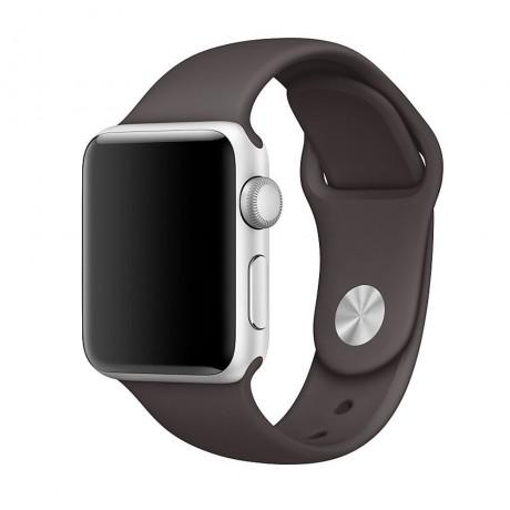 Bracelet souple pour Apple Watch 42/ 44 mm - Marron