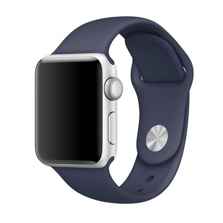 Bracelet souple pour Apple Watch 42/ 44 mm - Bleu