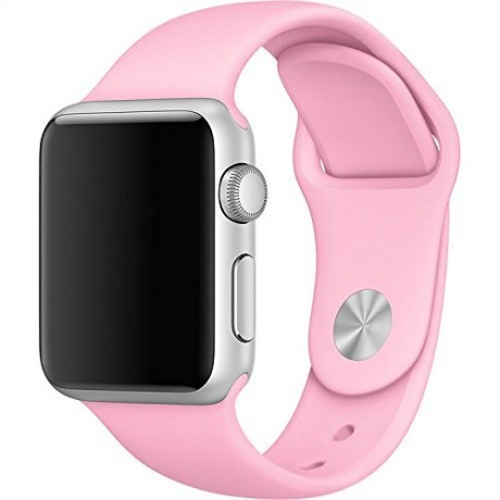 Bracelet souple pour Apple Watch 42/ 44 mm - Rose