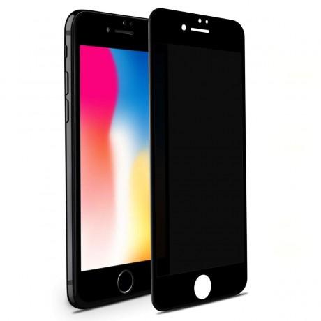 Vitre protectrice anti espion en verre trempé pour iPhone 7/8