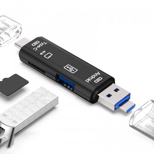 Adapteur USB 5 en 1