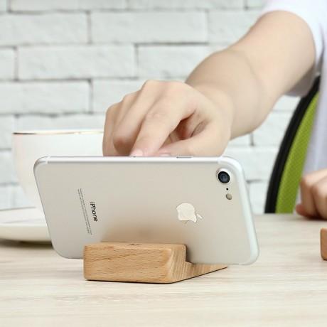 Support pour téléphone en bois universel