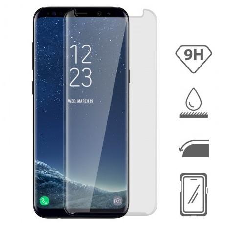Vitre de protection en verre trempé intégrale pour Samsung Galaxy S8