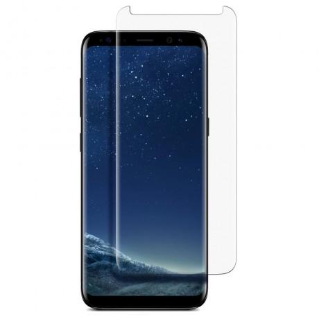 Vitre de protection en verre trempé intégrale pour Samsung Galaxy S8+
