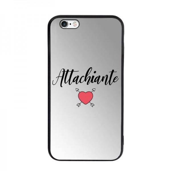 Coque miroir pour iPhone 6/6S - Attachiante