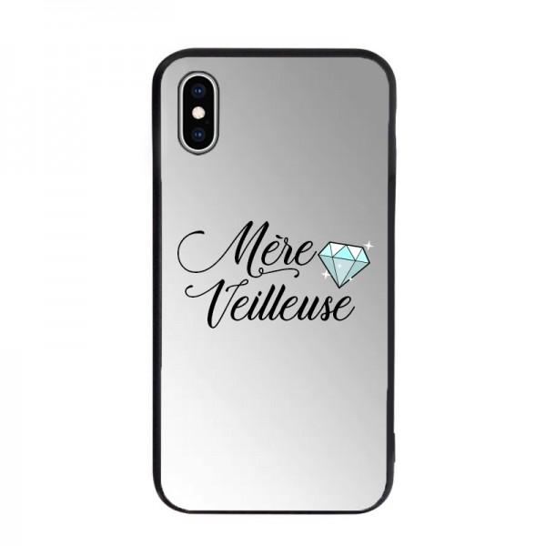 Coque miroir pour iPhone XS MAX - Mère Veilleuse