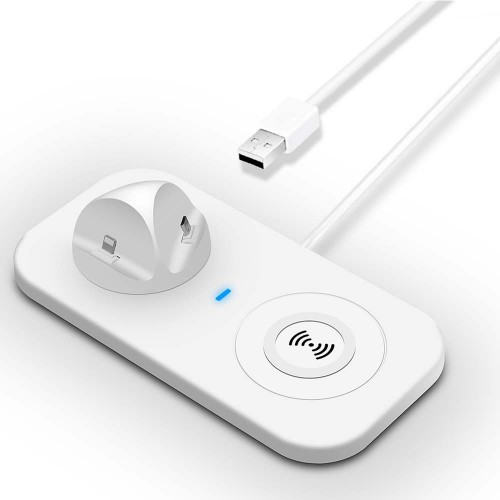 USB 2 en 1 Lightning 8Pin et MicroUSB Haweel Vert