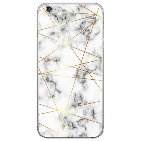 Coque LACOQUE'IN pour iPhone 6/6S - Marbre Gold
