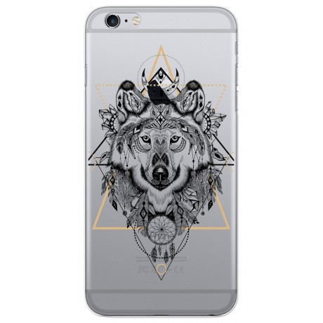 Coque LACOQUE'IN pour iPhone 6/6S - Loup