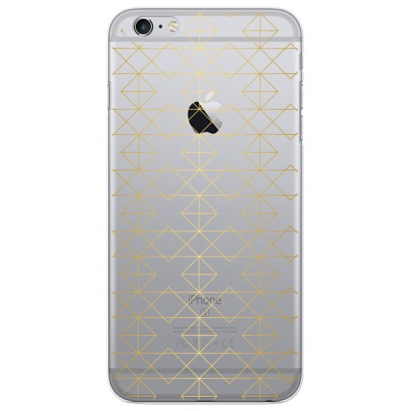 Coque LACOQUE'IN pour iPhone 6/6S - Gold