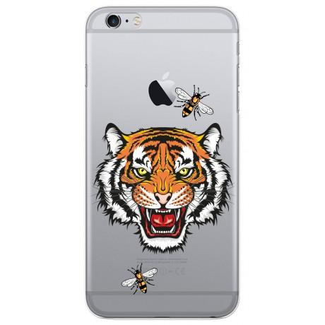 Coque LACOQUE'IN pour iPhone 6/6S - Tigre