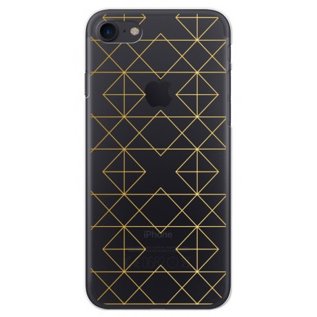 Coque LACOQUE'IN pour iPhone 7/8 - Gold