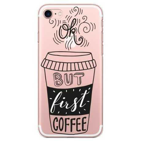 Coque LACOQUE'IN pour iPhone 7/8 - Coffee