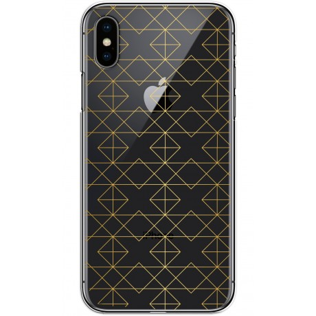 Coque LACOQUE'IN pour iPhone X/XS - Gold