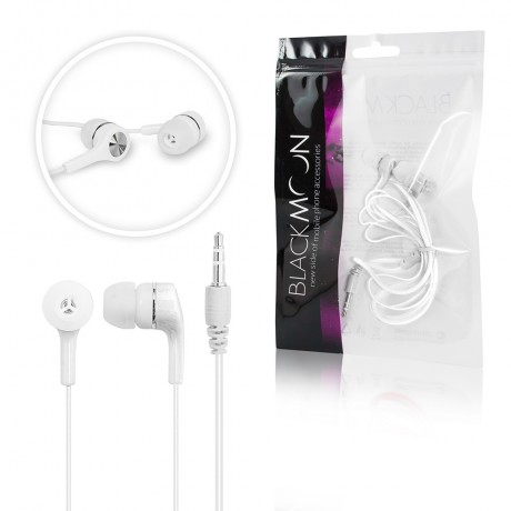 Ecouteurs intra-auriculaires jack 3.5mm - Blanc