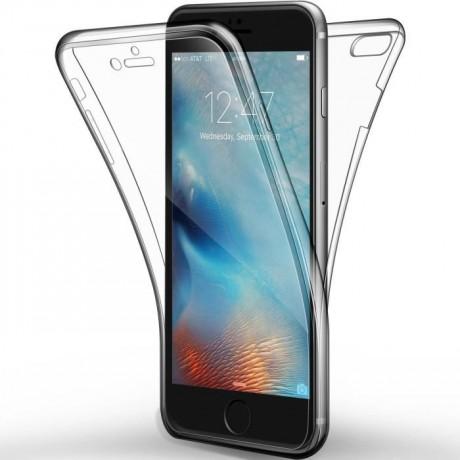 Coque souple intégrale 360° pour iPhone 7/8  - Transparent