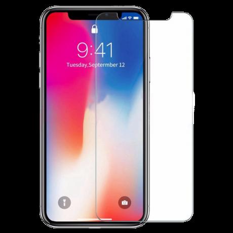 Vitre de protection en verre trempé pour iPhone X
